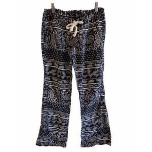 Roxy - Black & White Print Pants
